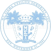 Mu Sigma Upsilon Encased Shield