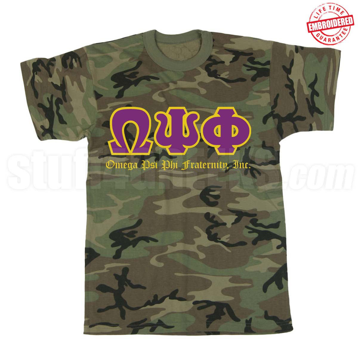 Custom Greek Stitch Letter Shirts