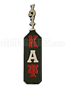 Kappa Alpha Psi Paddle with Greek Letters and Founding Year Handle, Black