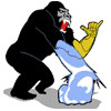 Frozen Arm Ape Icon