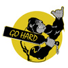 Go Hard Ape Patch