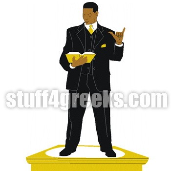 Alpha Man on Pedestal 1 Icon