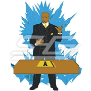 Alpha Phi Alpha Ice Man Icon