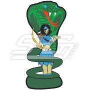 Amazon Woman With Cobra Icon