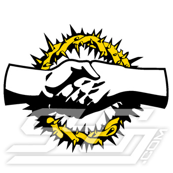 Alpha Omega Psi Hands Icon