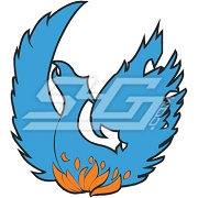 Blue Phoenix Patch