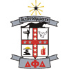 Delta Phi Delta Crest Patch (White)