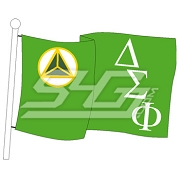 Delta Sigma Phi Flag Patch