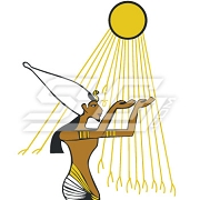 Egyptian With Sun Icon