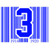 Blue Barcode Patch