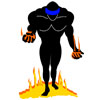 Man Crossing Burning Sands Icon