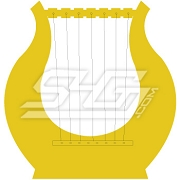 Golden Lyre Icon