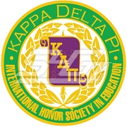 Kappa Delta Pi Logo Patch