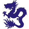 Blue Dragon Icon