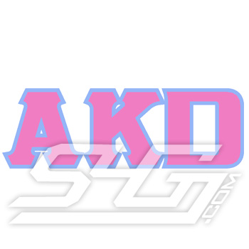 AKD Letters Patch