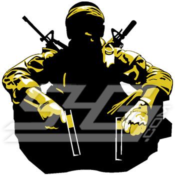 Black Ops Soldier Icon