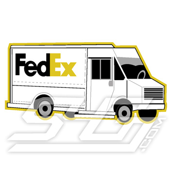 Fed Ex Truck Icon