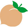 Georgia Peach Icon