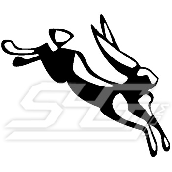 Jumping Jack Rabbit Icon