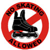 No Skating Icon