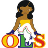 Girl Sitting on OES Icon