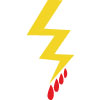 Bloody Thunderbolt Icon