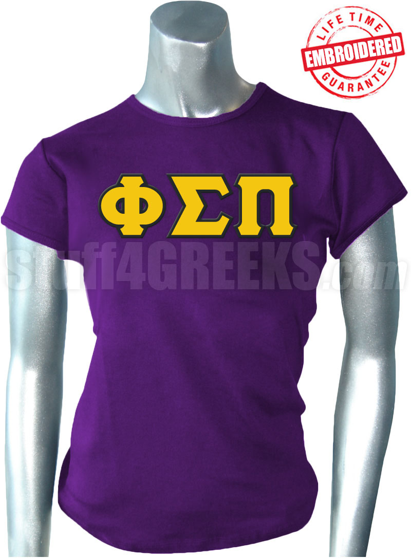 Phi Sigma Pi Greek Letter T-Shirt