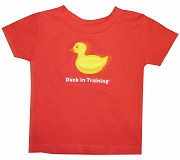 Duck in Training Screen Printed T-Shirt