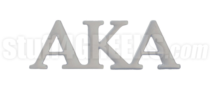 Custom Greek Letter Lapel Pins
