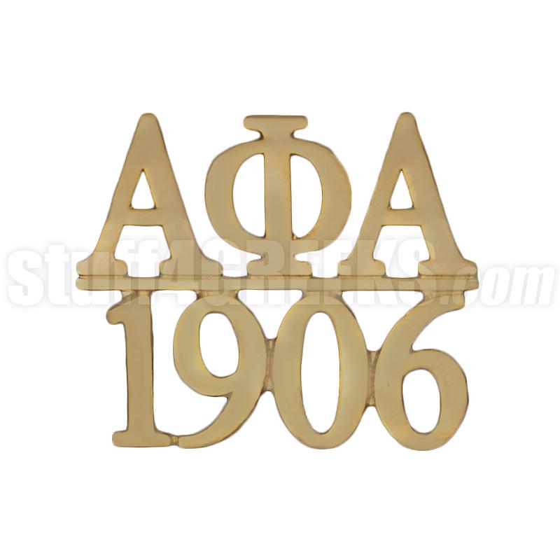 Alpha Phi Alpha 1.0625\