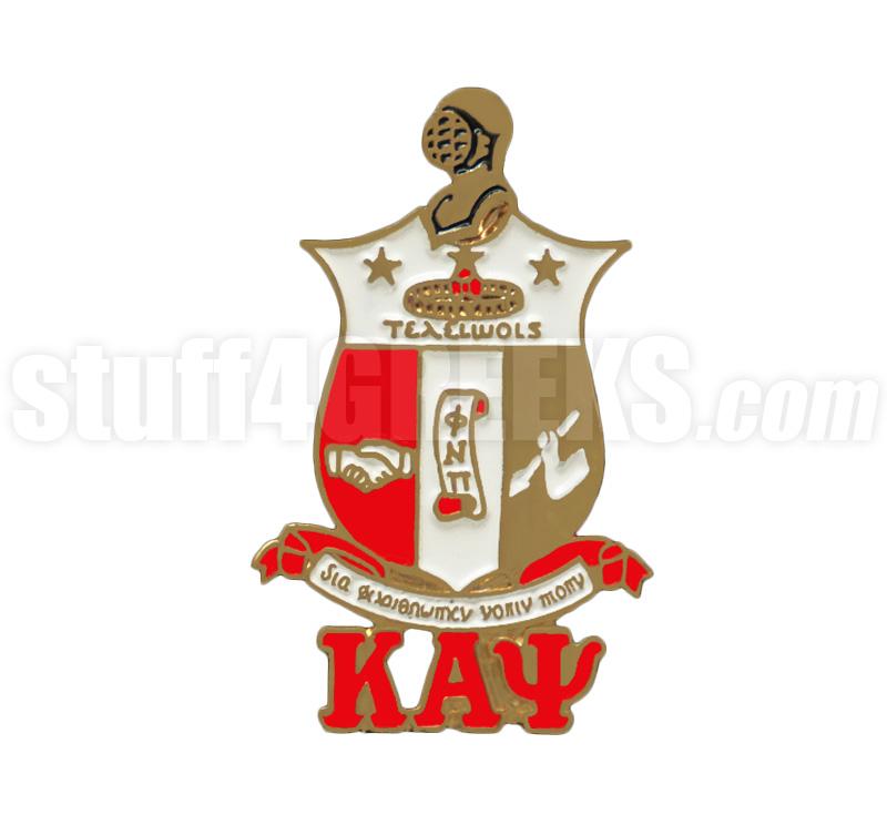 Kappa Alpha Psi 1 Shield Lapel Pin Full Color