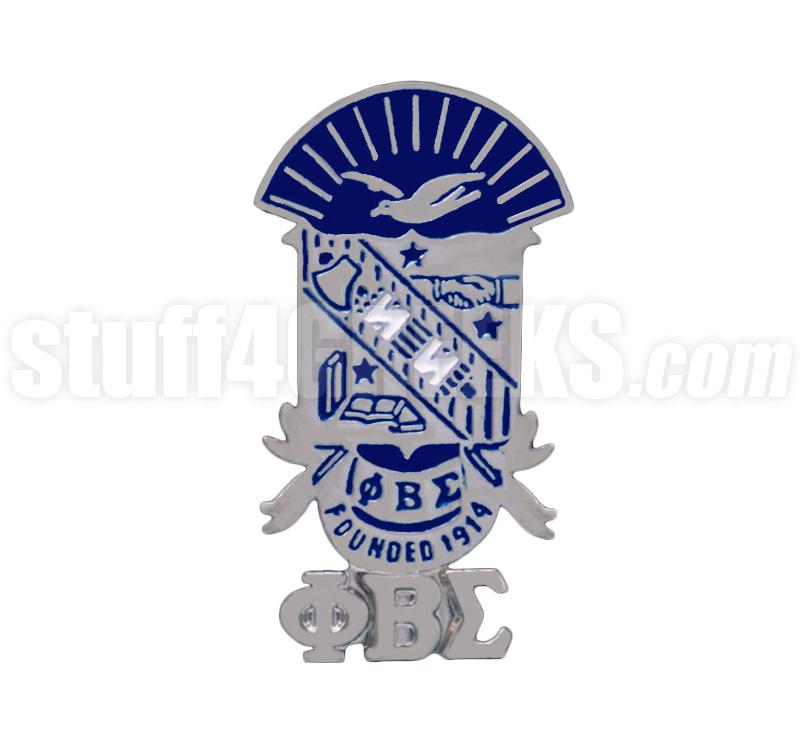 Phi Beta Sigma Shield Phi Beta Sigma Shield Lapel