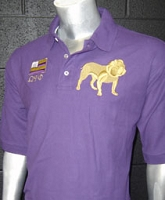 Omega Psi Phi Flag and Dog Polo (Inspired by RL), Purple