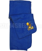 Sigma Gamma Rho Scarf with SGRho Girls and Founding Year, Solid Royal Blue