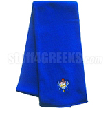 Sigma Gamma Rho Royal Scarf with Crest