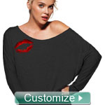 Personalized Embroidered Long Sleeve Shoulder Shirt