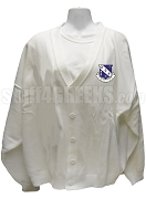 Phi Nu Kappa Cardigan with Crest, White