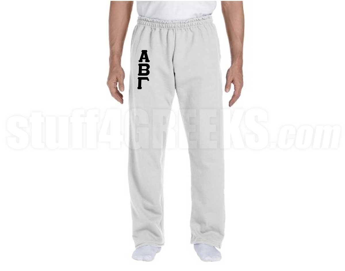 custom embroidered sweatpants