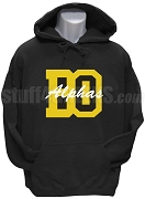 Alpha Phi Alpha Pullover Hoodie Sweatshirt with Beta Omicron Chapter Logo, Bllack