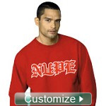 Custom Greek Crewneck Sweatshirt