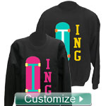 Personalized Embroidered Crewneck Sweatshirt