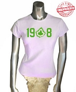 19-Ivy-8 T-Shirt, Pink - EMBROIDERED with Lifetime Guarantee