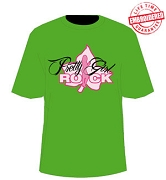 AKA Pretty Girl Rock, Kelly Green - EMBROIDERED with Lifetime Guarantee