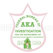 Alpha Kappa Alpha FBI Icon