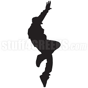 B-Boy Silhouette Icon