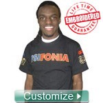 Custom Embroidered Crewneck T-Shirt