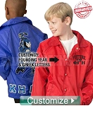 Custom Future _____ Kids' Line Jacket (Icon Included): Chose Your Organization - EMBROIDERED with Lifetime Guarantee