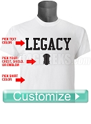 Custom Screen Printed Legacy T-Shirt