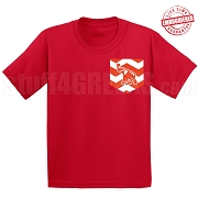 Elephant Faux Chevron Pocket T-Shirt - EMBROIDERED with Lifetime Guarantee