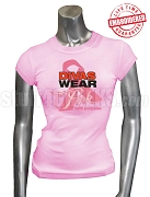Divas Wear Pink With Purpose Breast Cancer Awareness T-Shirt, Pink - EMBROIDERED with Lifetime Guarantee